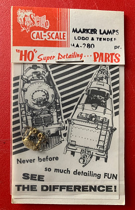 Loco & Tender - Marker Lamps - pair - CalScale - HO Parts