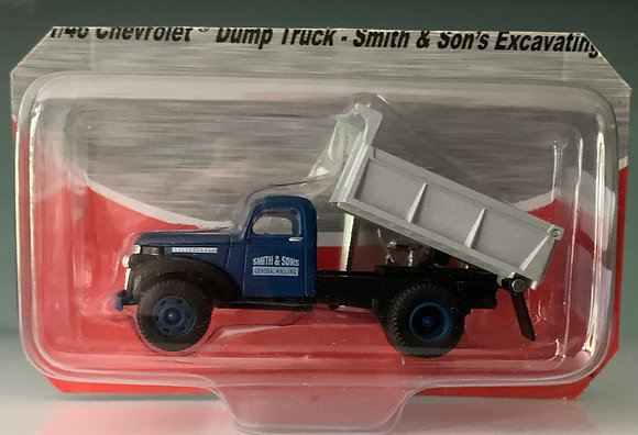 Smith & Sons Excavating Dump Truck - Chevrolet 41/46- Mini Metals