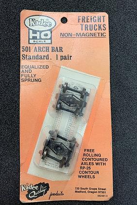 Kadee - 501 ARCH BAR Standard FREIGHT TRUCKS 1 pair sets