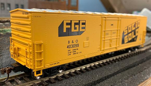 "Baltimore & Ohio 50ft Superior Box Car  ""SOLID GOLD""- Athearn HO"