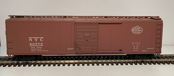 NEW YORK CENTRAL - 40ft Steel Single Door Box Car - HO