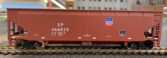 Union Pacific - 40ft  Metal Quad Hopper Car  -  HO