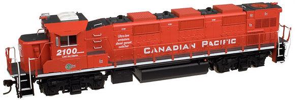 Canadian Pacific -  NRE Genset ll   # 2100  HO scale - DCC Plug