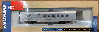 NEW YORK CENTRAL-  63ft Budd RPO Car - Walthers