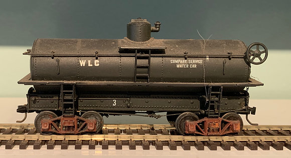 WLC - Old Time 26ft Water Tank  Car - HO