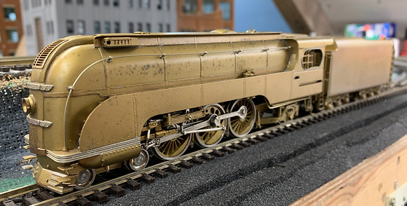 Union Pacific 4-6-2 Streamlined #2906  Brass - HO