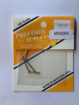 Braces, SP Deck, R & L -   Precision Scale - HO Parts