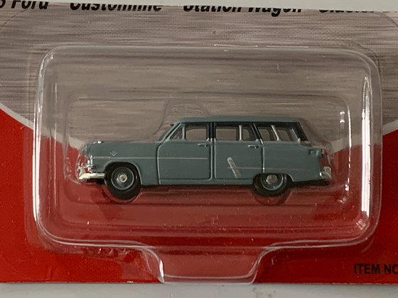Ford Customline Station Wagon - Glacier Blue  - Mini Metals 30308