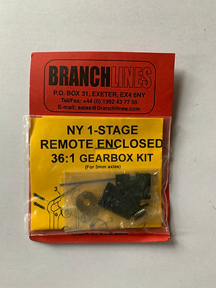 North Yard  1-Stage - Remote Enclosed 36:1 Gearbox Kit