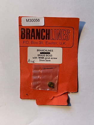 Branchlines : BrassBoss with 10BA grub screw 2mm bore