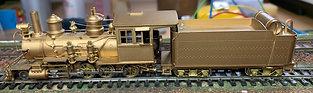 D&RGW Class C16  2-8-0   HOn3 - Westside Models HO