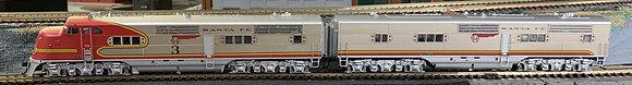 ATSF / Santa Fe  E1 A&B  3L + 3A - DC / DCC , Sound and Rolling Thunder