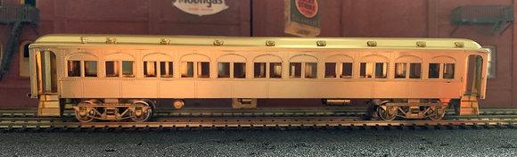 ERIE - STILLWELL 72ft Arch Window Brass Passenger Car - HO NWSL
