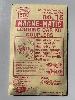 Kadee - Magne-Matic Logging Car Kit  Couplers #15