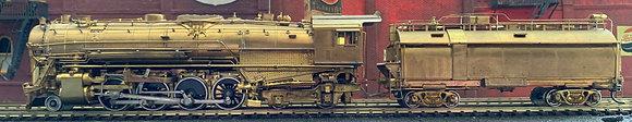 Southern Pacific - B1  2-8-4  Berkshire -  Brass