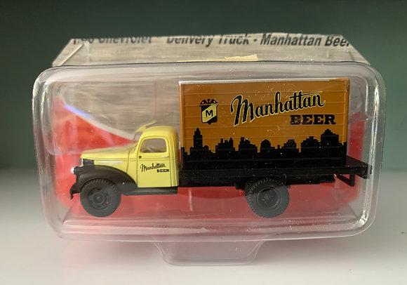 Manhattan Beer - Chevrolet 41/46 Delivery Truck - Mini Metals