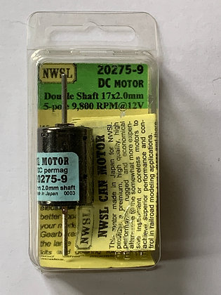 NWSL 20275-9 -  DC CAN Motor Double Shaft- 12v