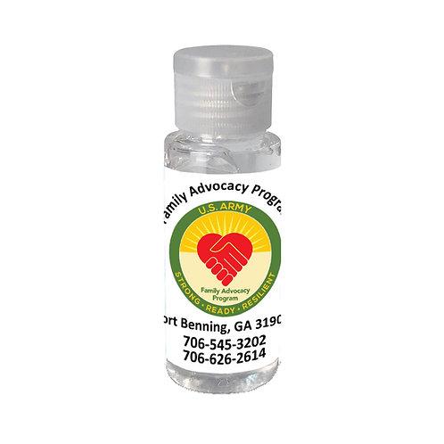 LM0020 2 oz. Single Color Moisture Bead Sanitizer