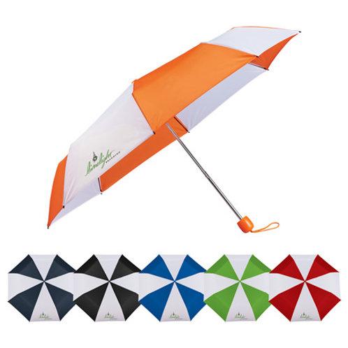 "LM5544 42"" Striped Folding Umbrella"