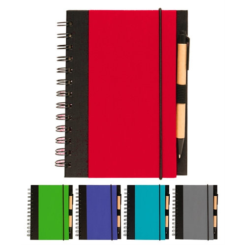 LM00129  Dynamic Spiral Notebook with Pen