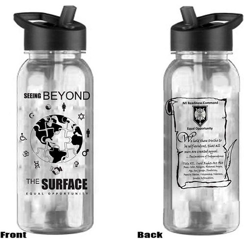 LM70159 Seeing Below the Surface Water Bottle