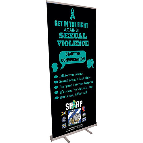 Get in the Fight Retractable Banner
