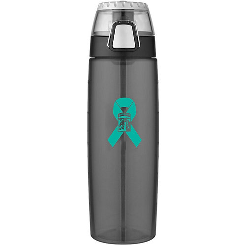 LM90032 Thermos Hydration Bottle with Meter - 24 Oz.