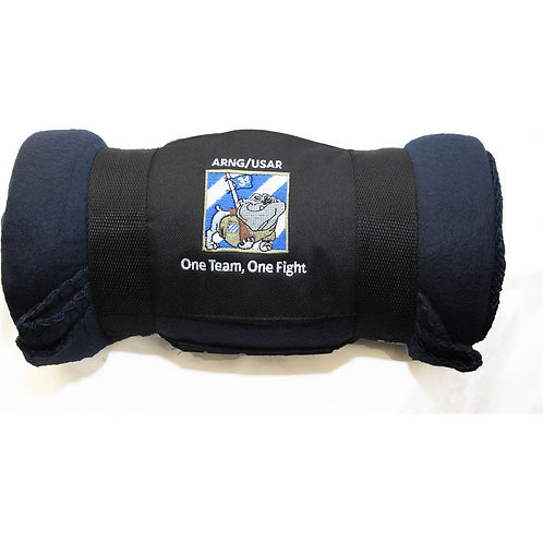 LM991205 Fleece Blanket with Carrying Strap