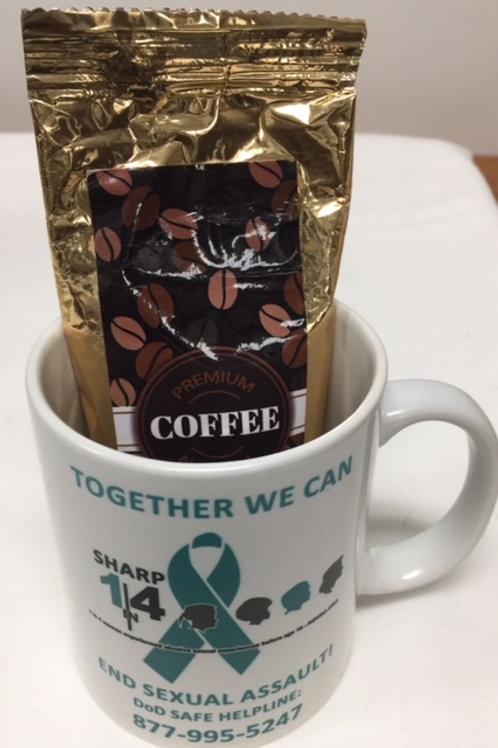 LM32498    11 oz Full Color Coffee Mug With Coffee