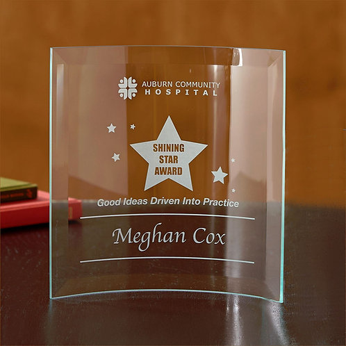 LM4859 Jade Square Crescent - Large Award