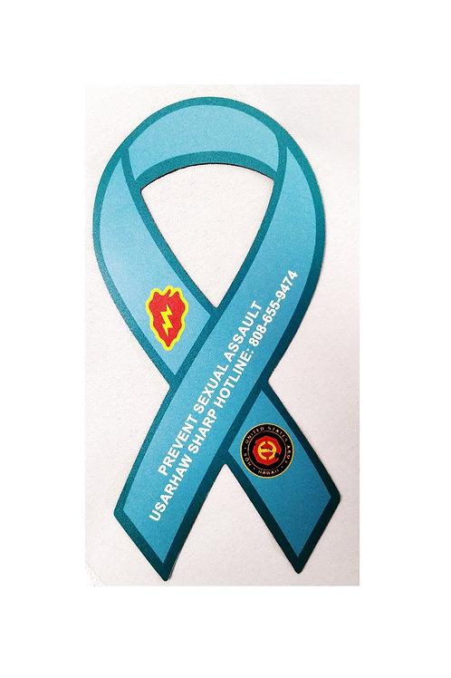 LM6379 Awareness Ribbon Car Magnet