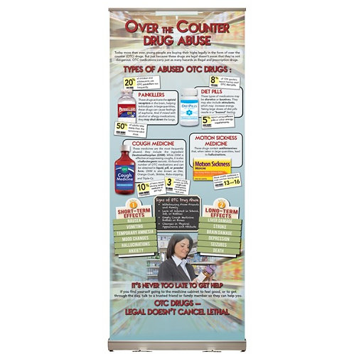 LM0186   In the Know: Over the Counter Drug Abuse Presentation Display