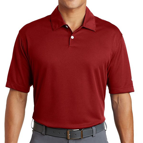 LM3425 Nike Golf Dri-FIT Pebble Texture Polo