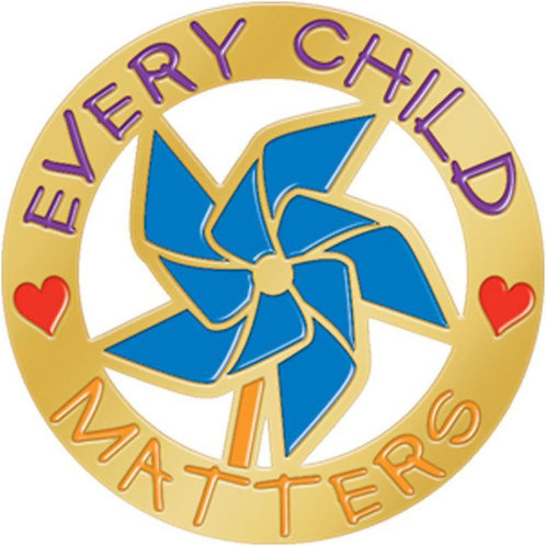 LM5487 Every Child Matter Lapel Pin
