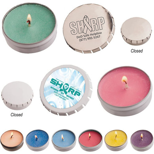 LM32507 Awareness Candle Man Soy Candle