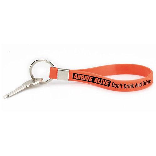 Arrive Alive: Don't Drink And Drive Key Tag Bracelet