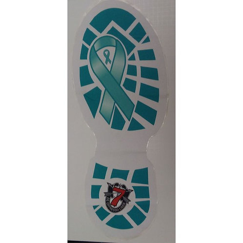 Shoe Print Decal