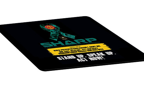 LM4921 Full Color Hard Surface Square Mouse Pad