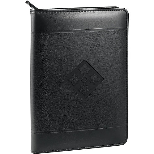 LM2705 Urban Zippered Padfolio