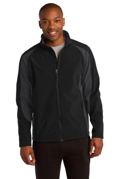 LM97011 Sport-Tek® Colorblock Soft Shell Jacket