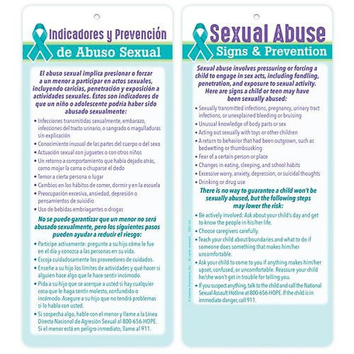 LM00152 Sexual Abuse Signs & Prevention glancer