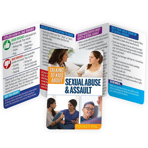 LM1139  Talking to Kids About Sexual Assault Pocket Pal