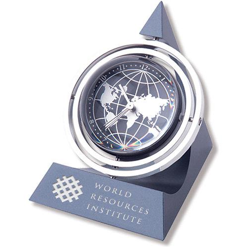 LM4848 Pyramid Globe Clock & Frame