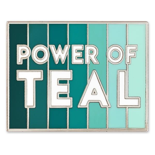LM00149 Power Of Teal Pin