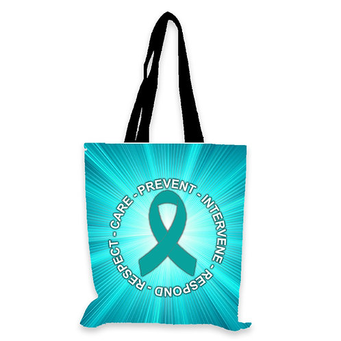 """LM1902 Full Color Extra Tall Tote bag w/ 22"""" Handles"""
