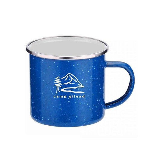 LM91125 16 oz. Iron and Stainless Steel Camping Mug
