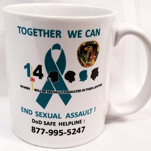 LM127C 11oz White Awareness Mug