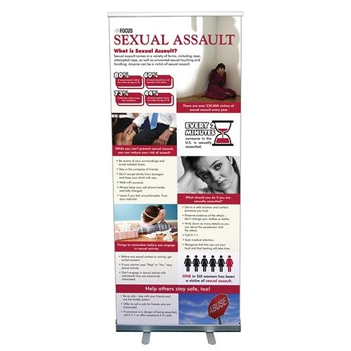 Sexual Assault Statistics Banner