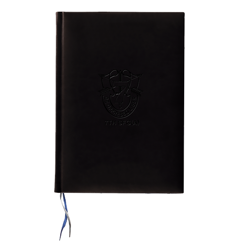 "LM6825BLK ""The Black Book"" Tucson Medium Journal w/ Graphic Insert"
