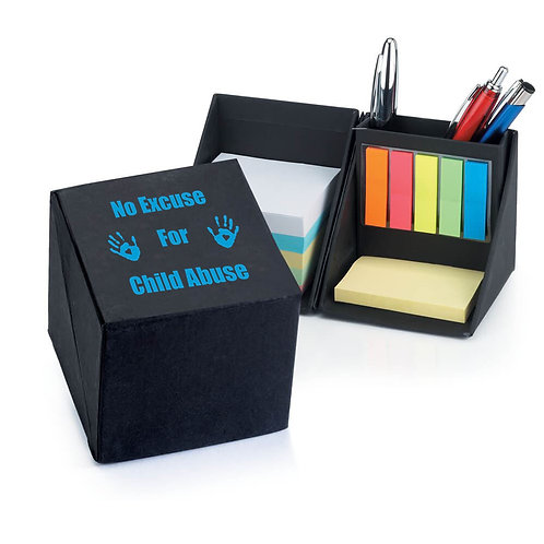 LM40661 Recycled Note Cube Caddy